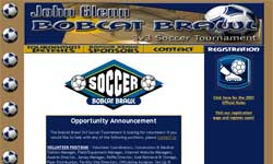 John Glenn Bobcat 3v3 Soccer Tournament