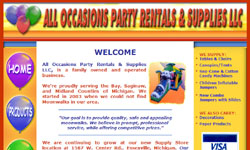All Occasions Party Rentals & Supplies LLC