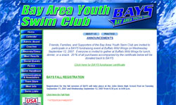 Bay Area Youth Swim Club