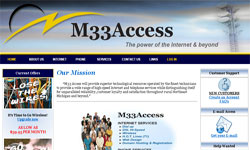 M33 Access Sales Site