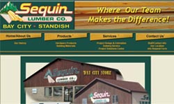 Sequin Lumber Company - Bay City, Michigan